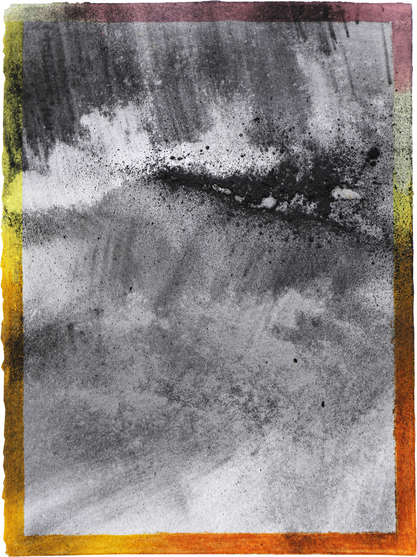 Nora Mona Bach – Tension I, 2020, pastel, charcoal on paper, 39 cm x 29 cm
