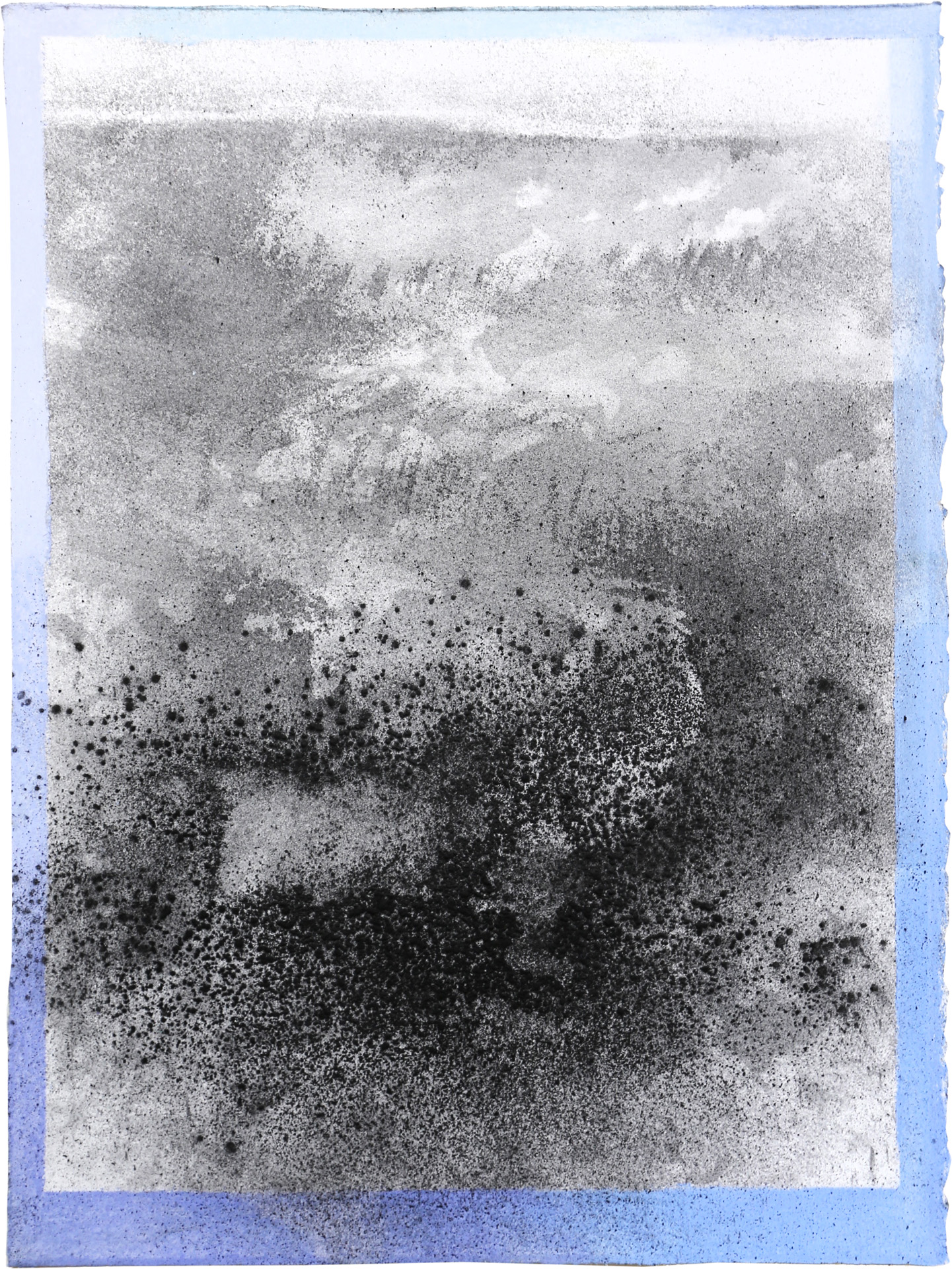 Nora Mona Bach – Tension II, 2020, pastel, charcoal on paper, 39 cm x 29 cm