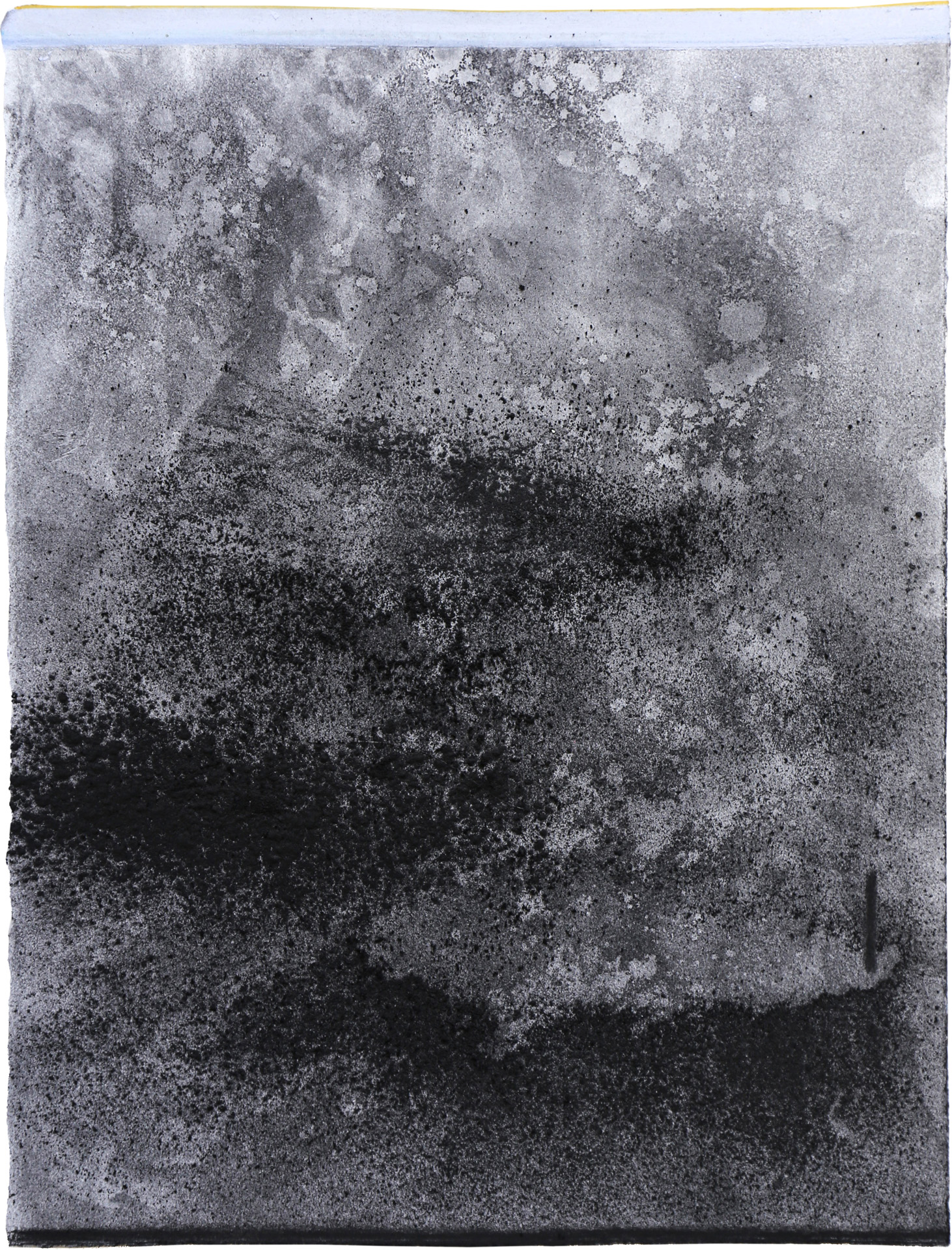 Nora Mona Bach – Tension III, 2020, pastel, charcoal on paper, 39 cm x 29 cm