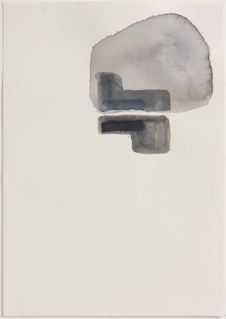 Thomas Müller – untitled, 2015, ink, acrylic on paper, 29,7 x 21 cm