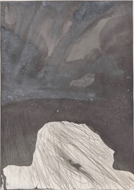 Thomas Müller –untitled, 2018, pencil, ink, acrylic on paper, 29,7 x 21 cm
