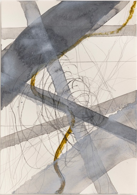 Thomas Müller –untitled, 2020, pencil, acrylic, oil on paper, 29,7 x 21 cm