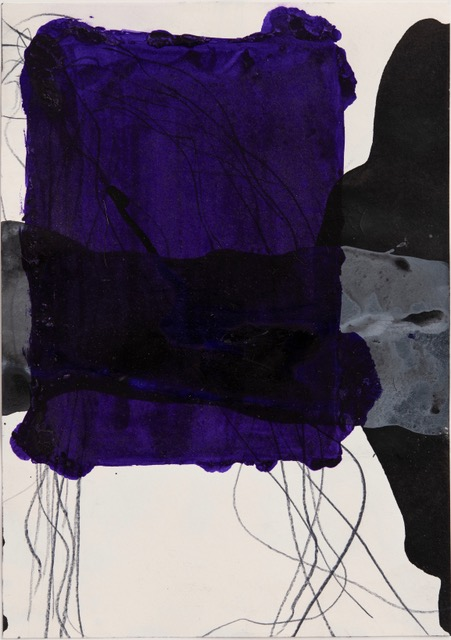 Thomas Müller –untitled, 2020, color pencil, ink, acrylic on paper, 29,7 x 21 cm